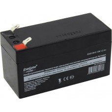Аккумулятор 12V 1.2Ач Exegate Power EXG12012 клеммы F1 (249948)