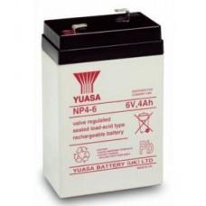 Аккумулятор 6V 4Ah Yuasa NP4-6