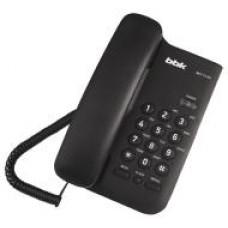 Телефон BBK BKT-74 RU чёрный проводной