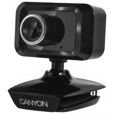 Web-камера Canyon CNE-CWC1 1.3MP, 1600x1200, микрофон, USB 2.0, черный