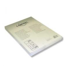 Плёнка глянцевая A4 100 mk Lamirel LA-78658 (100шт.) для ламинирования