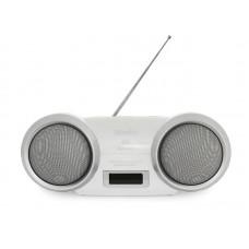 Магнитола DOFFLER CMP-1217BT WHITE (MP3)