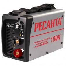 Сварочный аппарат инвенторный Ресанта САИ 190К (компакт)