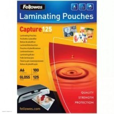Плёнка глянцевая A6 125 mk Fellowes FS-53072 (100шт.) для ламинирования