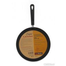 Сковорода Leran Crepes PF725 блинная (алюминий/антипригарное/ручки)